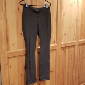 GAP Fit Heather Gray Yoga Straight Leg Pants